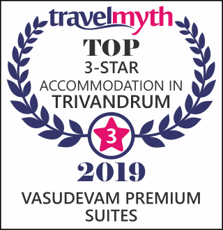 Awards Won by Vasudevam Premium Suites - Trivandrum